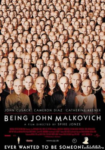 Скачать Быть Джоном Малковичем / Being John Malkovich (2000) mp4 Бесплатно