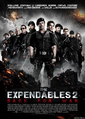 Скачать Неудержимые 2 / The Expendables 2 (2012) mp4 Бесплатно