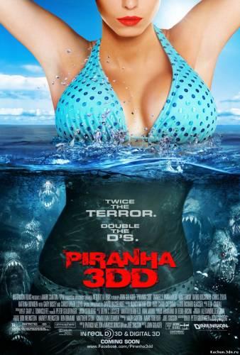 Пираньи 3DD (2012) - Смотреть Фильм в HD-720p Онлайн